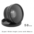 KELDA 58mm 0.45X Digital High Definition Super Wide Angle Lens with Macro